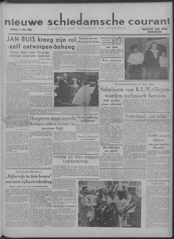 Nieuwe Schiedamsche Courant 1958-07-11
