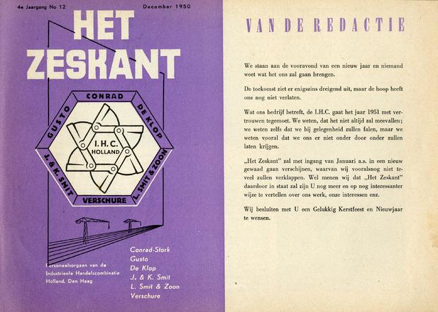 Het Zeskant 1950-12-01