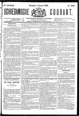 Schiedamsche Courant 1898-01-04
