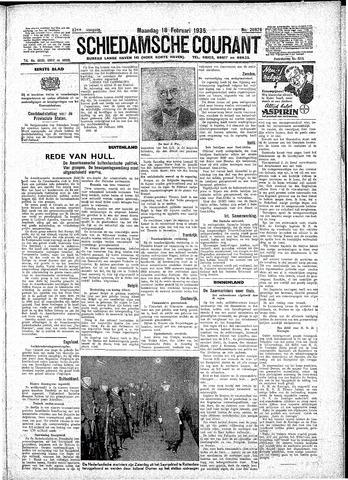 Schiedamsche Courant 1935-02-18