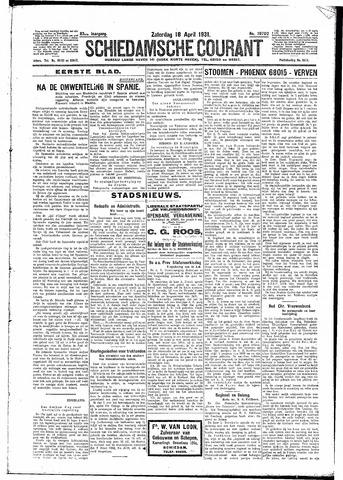 Schiedamsche Courant 1931-04-18