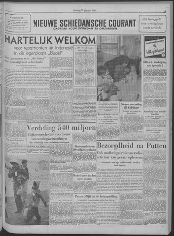 Nieuwe Schiedamsche Courant 1958-01-21