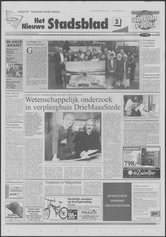Het Nieuwe Stadsblad 2001-04-26