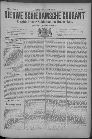 Nieuwe Schiedamsche Courant 1901-04-28