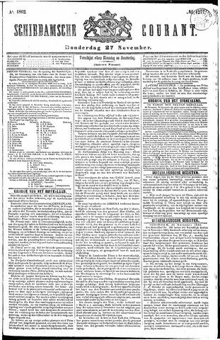 Schiedamsche Courant 1862-11-27