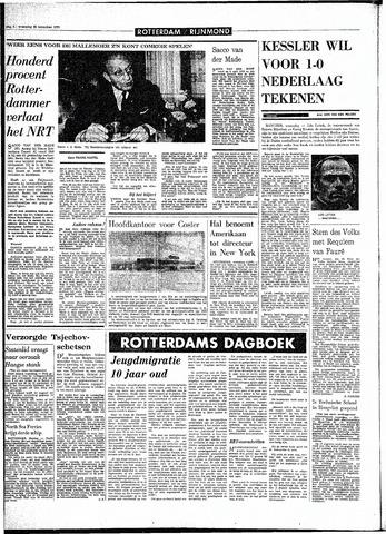 Rotterdamsch Parool / De Schiedammer 1970-11-25