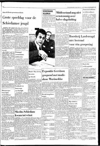 Rotterdamsch Nieuwsblad / Schiedamsche Courant / Rotterdams Dagblad / Waterweg / Algemeen Dagblad 1968-09-25