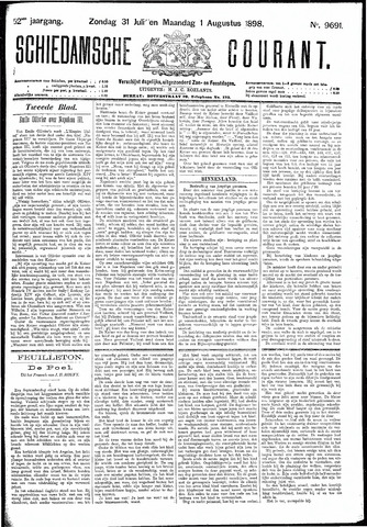 Schiedamsche Courant 1898-08-01
