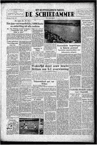 Rotterdamsch Parool / De Schiedammer 1947-05-12