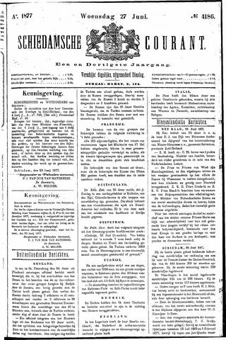 Schiedamsche Courant 1877-06-27