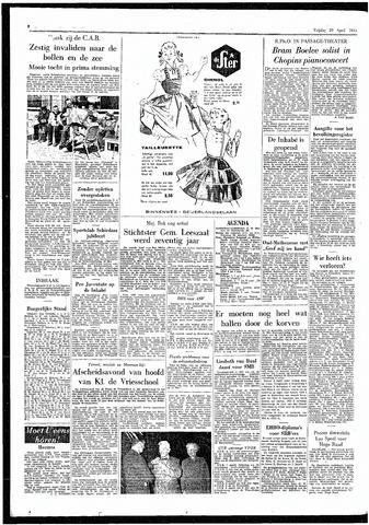 Rotterdamsch Parool / De Schiedammer 1955-04-29
