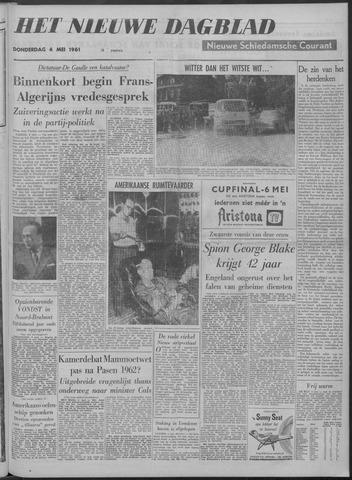 Nieuwe Schiedamsche Courant 1961-05-04
