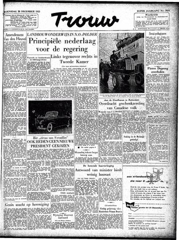 Trouw / De Rotterdammer 1953-12-23