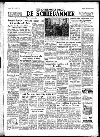 Rotterdamsch Parool / De Schiedammer 1948-11-12