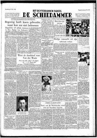 Rotterdamsch Parool / De Schiedammer 1949-05-12