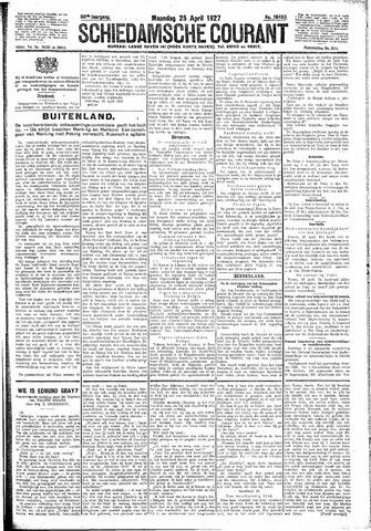 Schiedamsche Courant 1927-04-25