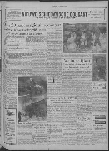 Nieuwe Schiedamsche Courant 1958-01-25