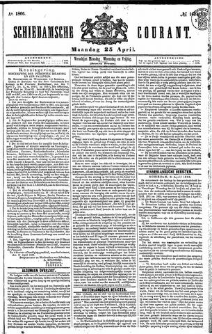 Schiedamsche Courant 1866-04-23