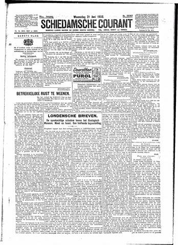Schiedamsche Courant 1933-06-21