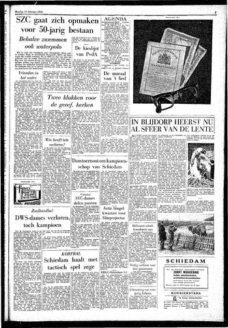 Rotterdamsch Parool / De Schiedammer 1962-02-13