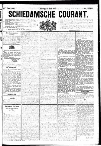 Schiedamsche Courant 1912-07-16