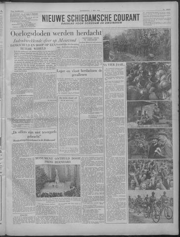 Nieuwe Schiedamsche Courant 1949-05-05