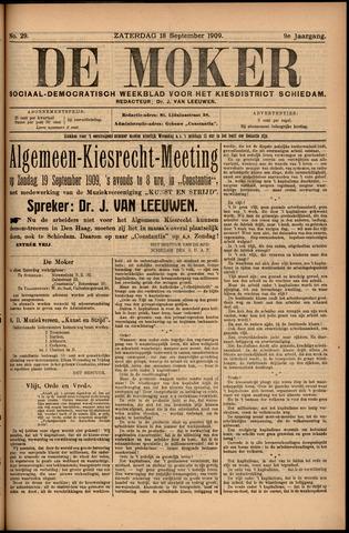 De Moker 1909-09-18
