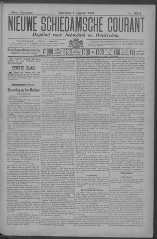 Nieuwe Schiedamsche Courant 1913-01-04