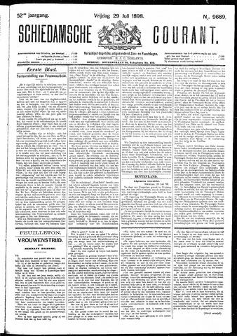 Schiedamsche Courant 1898-07-29