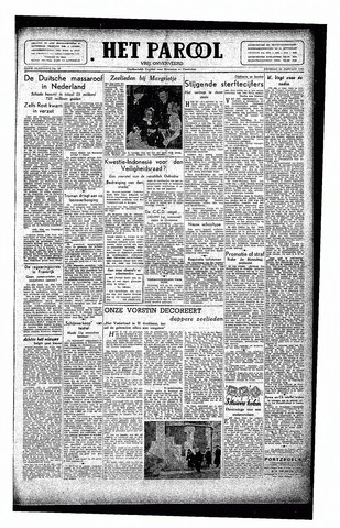 Rotterdamsch Parool / De Schiedammer 1946-01-22