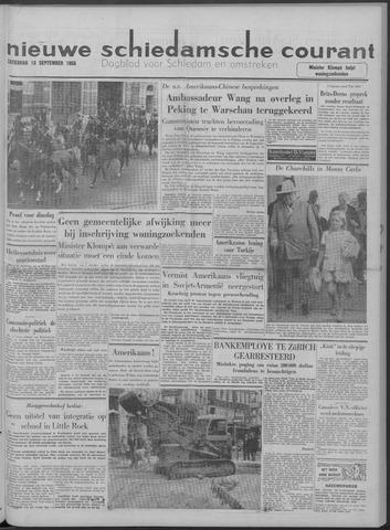 Nieuwe Schiedamsche Courant 1958-09-13