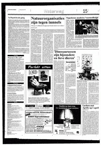 Rotterdamsch Nieuwsblad / Schiedamsche Courant / Rotterdams Dagblad / Waterweg / Algemeen Dagblad 1993-04-02