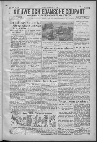 Nieuwe Schiedamsche Courant 1946-08-09