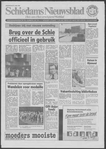Schiedams Nieuwsblad 1984-06-27
