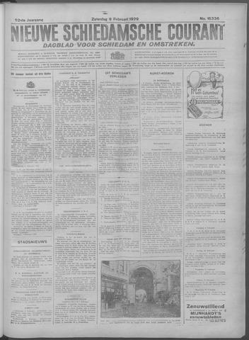 Nieuwe Schiedamsche Courant 1929-02-09