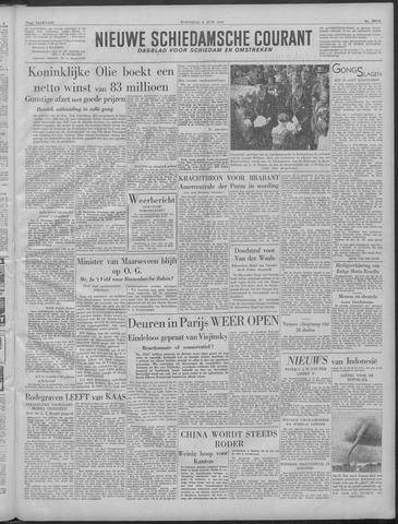 Nieuwe Schiedamsche Courant 1949-06-08