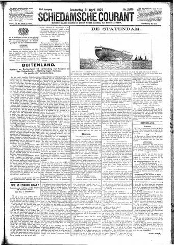 Schiedamsche Courant 1927-04-21