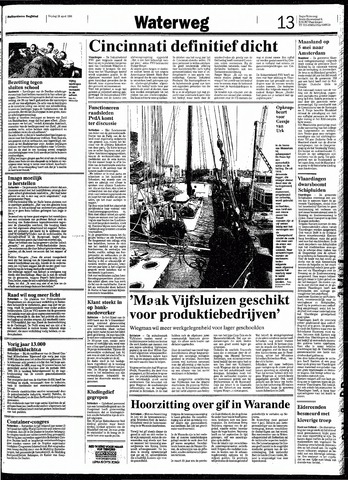 Rotterdamsch Nieuwsblad / Schiedamsche Courant / Rotterdams Dagblad / Waterweg / Algemeen Dagblad 1991-04-26