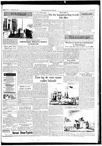 Rotterdamsch Nieuwsblad / Schiedamsche Courant / Rotterdams Dagblad / Waterweg / Algemeen Dagblad 1959-02-12