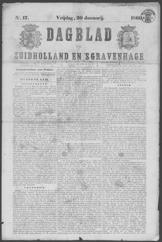 Dagblad van Zuid-Holland 1860-01-20