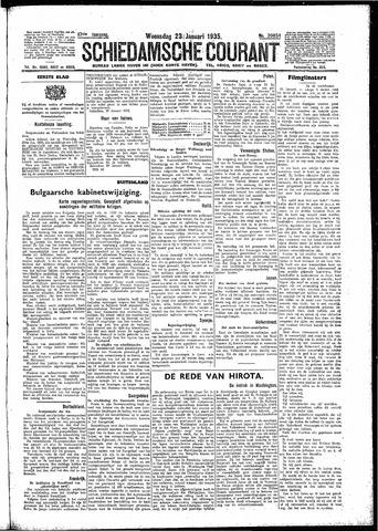 Schiedamsche Courant 1935-01-23