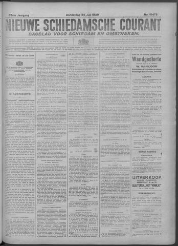 Nieuwe Schiedamsche Courant 1929-07-25