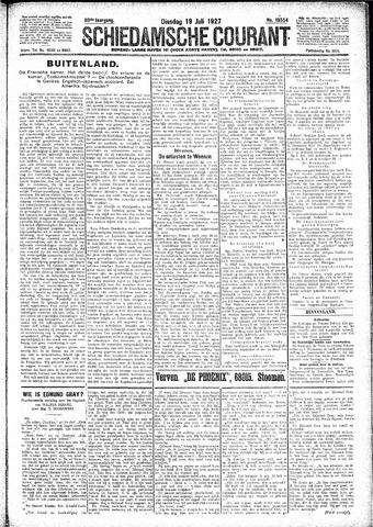 Schiedamsche Courant 1927-07-19