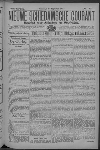 Nieuwe Schiedamsche Courant 1917-08-27