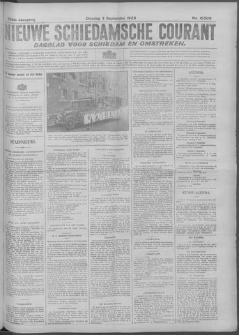 Nieuwe Schiedamsche Courant 1929-09-03