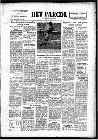 Rotterdamsch Parool / De Schiedammer 1946-08-21