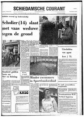 Rotterdamsch Nieuwsblad / Schiedamsche Courant / Rotterdams Dagblad / Waterweg / Algemeen Dagblad 1974-11-07