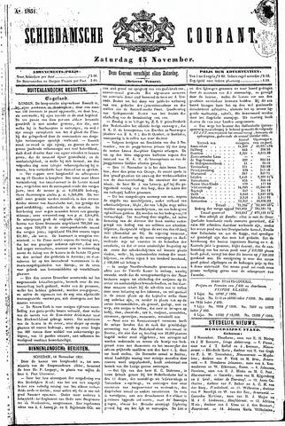 Schiedamsche Courant 1851-11-15