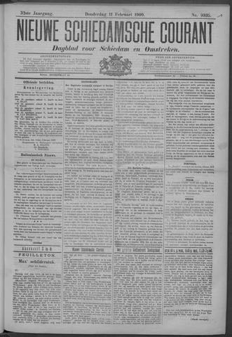 Nieuwe Schiedamsche Courant 1909-02-11