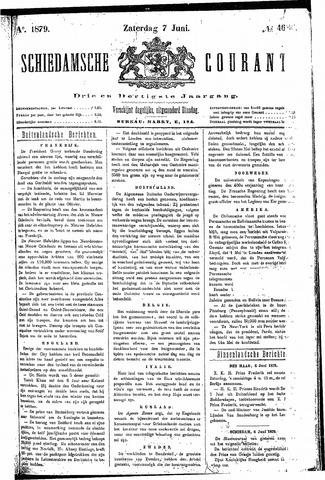 Schiedamsche Courant 1879-06-07